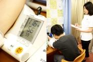 血圧・脈測定